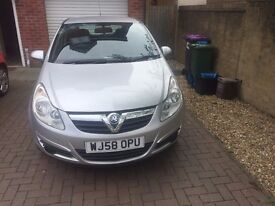 vauxhall corsa 1.2 breeze good condition for the year long mot mileage 85000