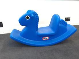 Little Tikes Blue Rocking Horse