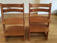 Stokke Tripp Tripp Chairs - 2 available. £50 each