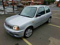 NISSAN MICRA 1LITRE 5MONTHS MOT DRIVES SUPERB ONLY 78K MILAGE QUICK SALE £375