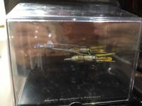 Anakin Skywalkers Podracer on Stand in Box