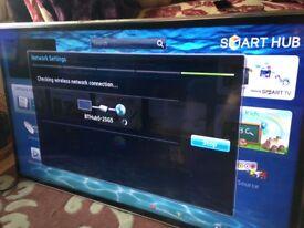 £250.00 ONO Samsung Series 6 40 inch Smart Slim LED TV with remote Serial number: UE40ES6800UXXU