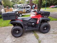 Quadzilla RS6 LWB, road legal, twist grip auto, one owner from new,