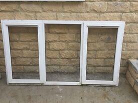3 U.P.V windows for sale