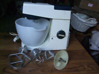 vintage Kenwood chief and lots of accessories