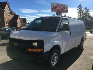 2014 Chevrolet Express 3500 Cargo | 4.8L V8 | 4 NEW TIRES Kitchener / Waterloo Kitchener Area image 1
