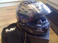 hjc motorbike helmet new size xsmall