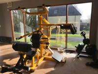 Powertec workbench multi system and weights