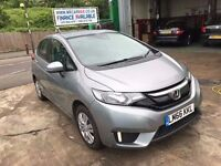 2016 HONDA JAZZ S I-VTEC CVT 1.3 AUTOMATIC, 5940 MILES, 2 YEARS WARRANTY £20 TAX FINANCE £277 X 60