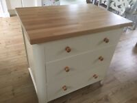 Solid wood Kitchen island/free standing unit
