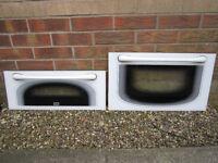 Double Oven Glass Door Panels with Handles