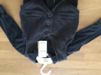 12-18 months waistcoat and long sleeve shirt