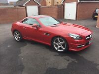 Immaculate Mercedes250 SLK , AMG trim, grey leather, years MOT many extras, low mileage .