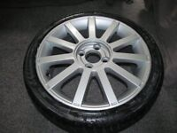 "FORD FIESTA ST150 17"" ALLOY WHEEL AND TYRE 205/40R17"