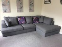 Next Stratus V Sofa - Large Chaise End Corner