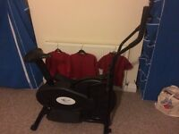 Cross trainer plus exercise bike
