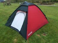 2 man tent + 2x sleeping mats + 2x sleeping bags