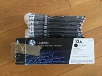 HP Laserjet Printer 12A toner cartridge ink - New with hologram for authenticity