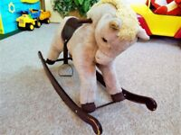 High Quality Rocking Horse from Smoke and Pet Free Home