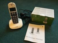 Doro PhoneEasy 100w cordless with amplified sound and big buttons new in box