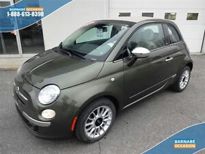 2014 Fiat 500C LOUNGE CONVERTIBLE CUIR CHAUFFANT