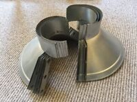 ** FREE ** 5no. Roof Penetration Ventilation System Weather Storm Collars