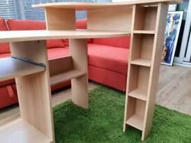 MDF corner L-shaped desk