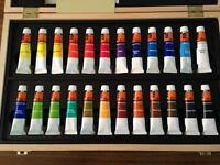 Brand new watercolour set from WH Smith