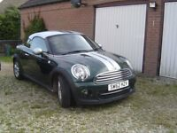 Mini Cooper Coupe, British Racing Green, Low Mileage