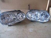 Volkswagen Golf Continental Headlamps