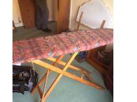 Nice original wooden ironing board retro