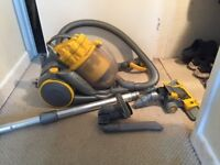 Dyson DC80. Operational but Spares or repairs