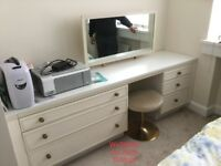 Dressing table with mirror - collection only today