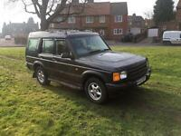 1999 Land Rover discovery td5 gs 7 seater £1200