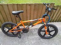 20inch xrated shockwave bmx bike