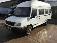 LDV Diesel 400 CONVOY TD LWB MINIBUS 13 Seater,2 Owner 92,000 miles,Service bill with the MOT,NO VAT