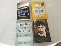 Job lot of 4 Great Books - only 75p Each!
