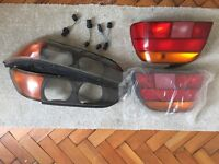 BMW 5 series e39 lights - front and rear - original BMW
