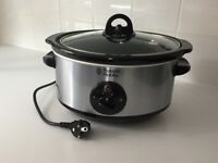 Russell Hobbs 3.5L Slow Cooker - Stainless Steel