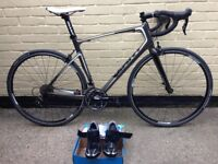 Giant Defy carbon fibre racer bike