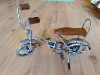 Small bike sculpture, model, ornament