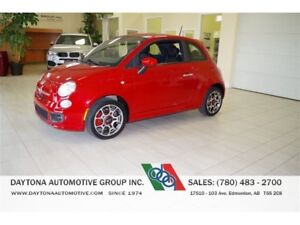 2013 Fiat 500 SPORT AUTOMATIC ONLY 29,000KMS!