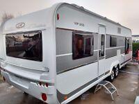 2014 LMC 655 VIP Caravan , camping , tourer Hobby, Fendt, Swift ,