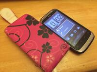 Htc desire s unlocked to any network with case