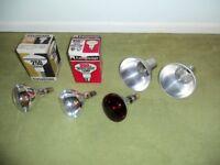Heat lamps, 250w, 230/250 V