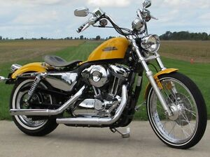 2013 harley-davidson XL1200V Seventy-Two   Chrome Yellow Pearl &