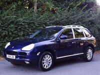 Porsche Cayenne 3.2 V6 Tiptronic S AWD 5dr FULL BLACK LEATHER - BOSE