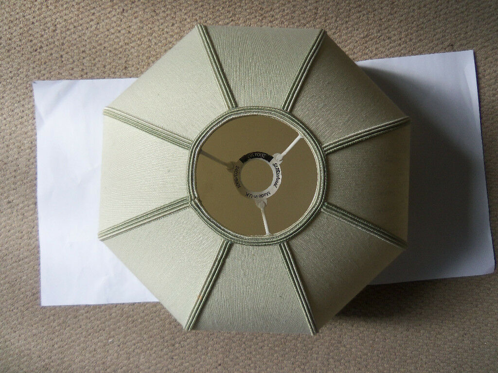 St Michael's ceiling lampshade in marrow green