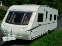 Touring Caravan Abbey 418 GTS Fixed Bed 4 Berth
