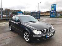 2005 55 MERCEDES BENZ C220 CDI AUTO AVANTGARDE SE 120k FSH MUST SEE BARGAIN FACELIFT MODEL